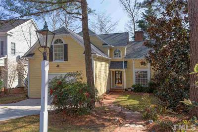 Chapel Hill Single Family Home Contingent: 1634 Jamestowne Place