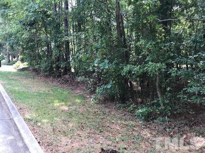 Chapel Hill Residential Lots & Land For Sale: 81501 Alexander