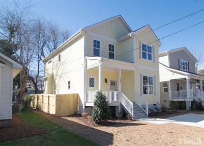 Wake County Single Family Home For Sale: 1508 E Lane Street