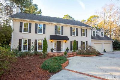 Raleigh Single Family Home Contingent: 7005 North Ridge Drive