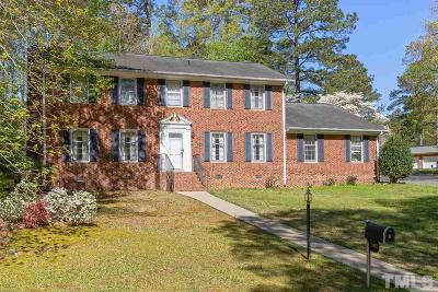 Garner Single Family Home Contingent: 302 Tiffany Circle
