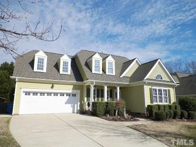 Fuquay Varina Single Family Home For Sale: 1347 Stone Lion Drive