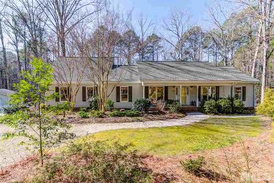 Apex Single Family Home Contingent: 504 Sleepy Valley Road