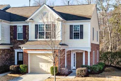 Cary Townhouse Contingent: 1114 Kingston Grove Drive