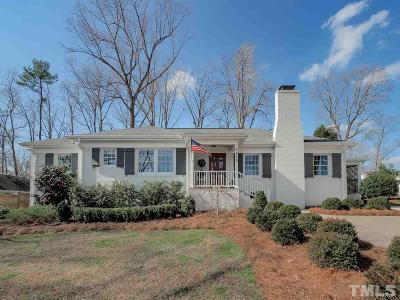 Raleigh Single Family Home Contingent: 3213 Northampton Street