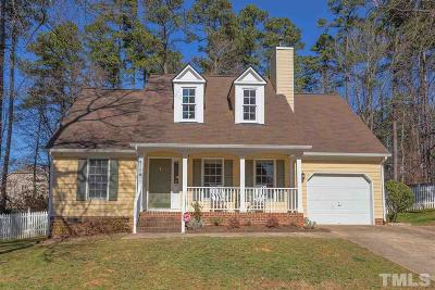 Durham Single Family Home Contingent: 4106 Liddington Drive