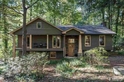 Raleigh Single Family Home Contingent: 8273 Hillside Drive