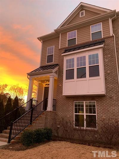 Brier Creek, Brier Creek Country Club, Country Club Hills, Eagle Ridge, Hedingham, Northridge, River Ridge, River Ridge Golf Community, Wakefield, Wildwood Green Townhouse For Sale: 9102 Wooden Road