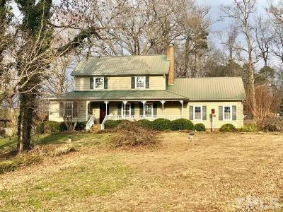 Rougemont Single Family Home For Sale: 13020 Meadow Ridge Drive