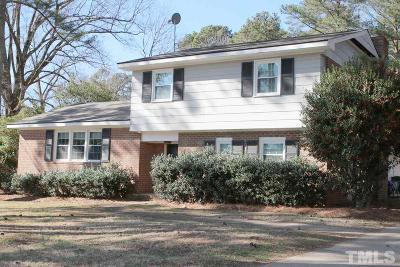 Cary Single Family Home For Sale: 706 Kildaire Farm Road
