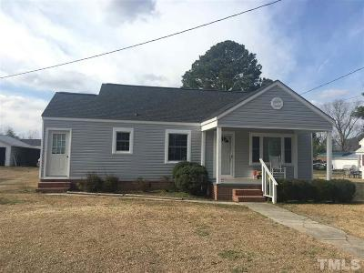 Pine Level Single Family Home Contingent: 117 S Fitzgerald Street