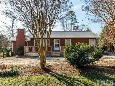 Durham Single Family Home Contingent: 3120 Gibson Road