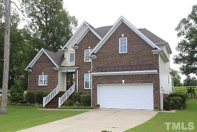 Clayton Single Family Home For Sale: 100 Mantle Drive