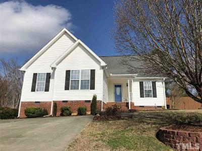 Granville County Single Family Home Contingent: 142 Carriage Hill Drive