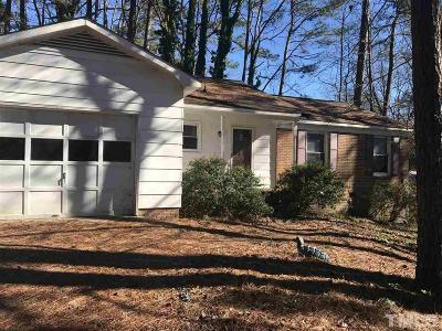 Wake County Single Family Home Pending: 5908 Periwinkle Court