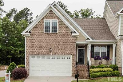 Fuquay Varina Townhouse For Sale: 300 Duchart Lane