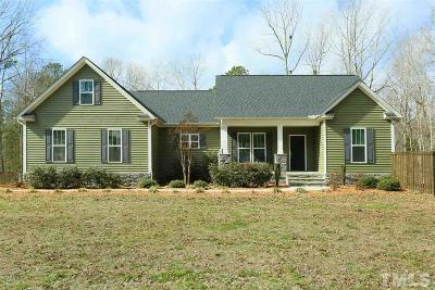 Pittsboro Single Family Home Pending: 128 Stone Wall Road