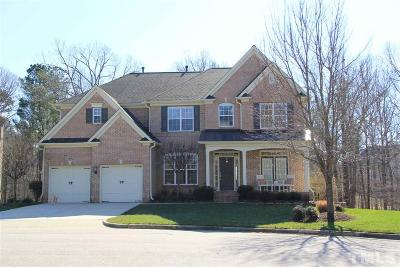 Cary Single Family Home For Sale: 819 Huntsworth Place