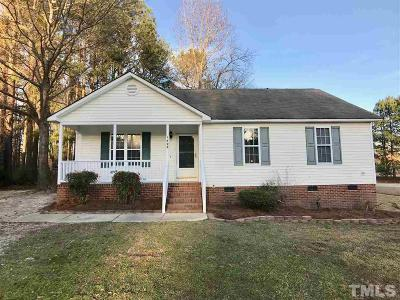 Clayton Single Family Home Pending: 1498 Rock Pillar Road