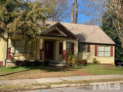 Sanford NC Single Family Home For Sale: $198,000