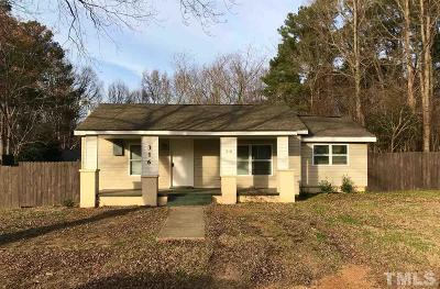 Bunn, Franklinton, Henderson, Louisburg, Spring Hope, Wake Forest, Youngsville, Zebulon, Clayton, Middlesex, Wendell, Bailey, Nashville, Knightdale, Rolesville Rental For Rent: 316 Chestnut Avenue