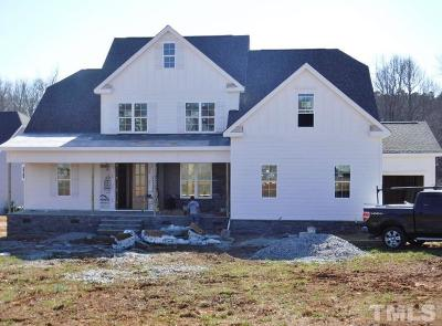 Wake Forest Single Family Home For Sale: 3400 Donlin Drive