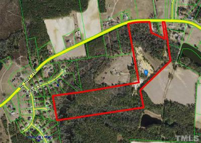 Johnston County Residential Lots & Land For Auction: 5161 Nc 210 Highway