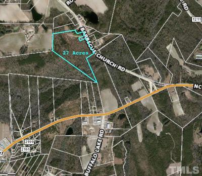 Residential Lots & Land For Sale: Barbecue Church Road
