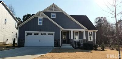 Fuquay Varina Single Family Home For Sale: 1124 Dairy Glen Drive