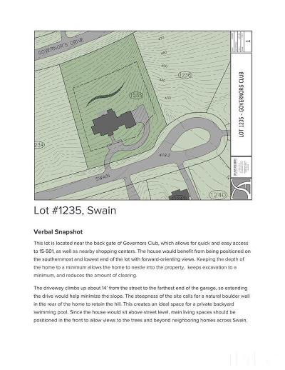 Chapel Hill Residential Lots & Land For Sale: 10443 Swain