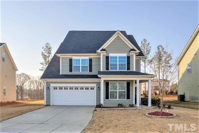 Holly Springs Single Family Home For Sale: 125 Woodlark Lane
