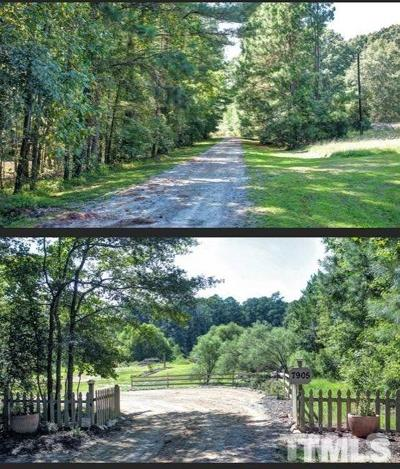 Wake County Residential Lots & Land Pending: 7913 Emery Gayle Lane