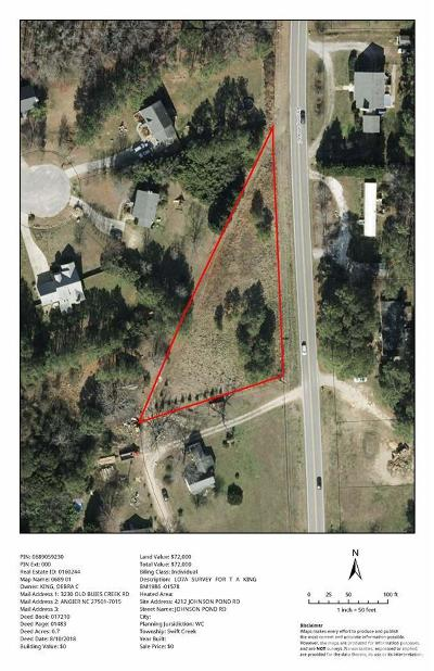 Apex Residential Lots & Land For Sale: 4212 Johnson Pond Road