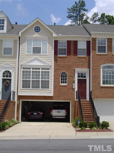 Morrisville Townhouse For Sale: 702 Kirkeenan Circle