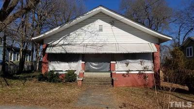 Durham Single Family Home For Sale: 707 Holloway Street