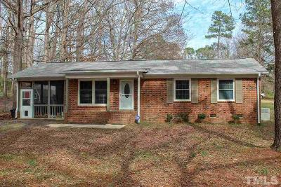 Raleigh Single Family Home For Sale: 7300 Bentley Wood Lane