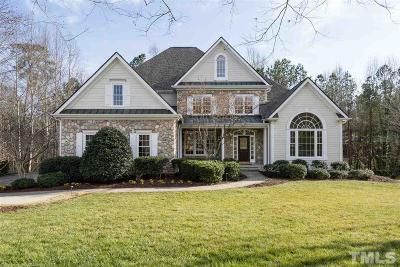 Cary Single Family Home Contingent: 102 Bosswood Court