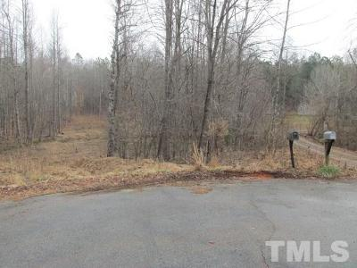 Granville County Residential Lots & Land For Sale: 3015 Bent Tree Drive