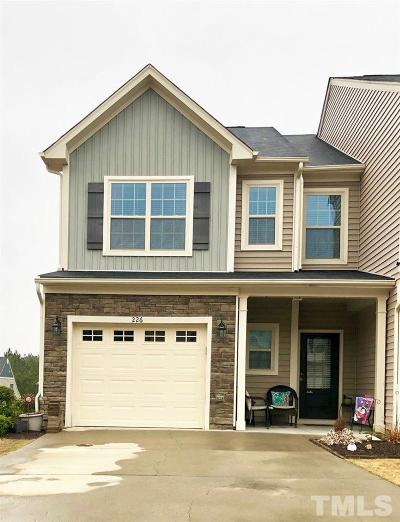 Holly Springs Townhouse Contingent: 226 Beaconwood Lane