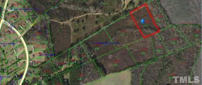 Johnston County Residential Lots & Land For Sale: Lot 12 Will Road