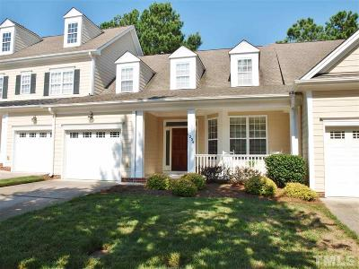 Wake Forest Townhouse For Sale: 1236 Fairview Club Drive