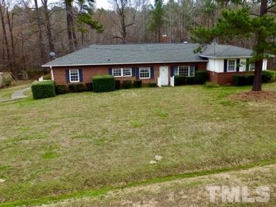 Granville County Single Family Home For Sale: 3065 Tom Hunt Road