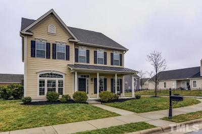 Morrisville Single Family Home Contingent: 1800 Hemby Ridge Lane