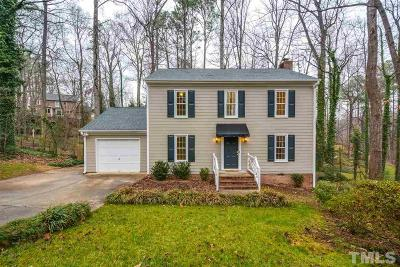 Raleigh Single Family Home For Sale: 4605 Gunston Place