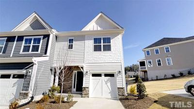 Apex Townhouse For Sale: 2542 Sunnybranch Lane