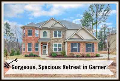 Garner Single Family Home For Sale: 5409 Fantasy Moth Drive