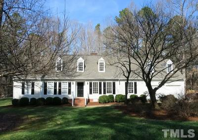 Raleigh Single Family Home Pending: 14008 Bingham Drive
