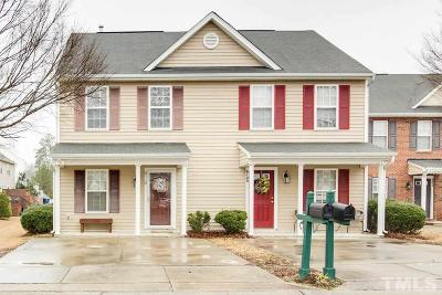 Brier Creek, Brier Creek Country Club, Country Club Hills, Eagle Ridge, Hedingham, Northridge, River Ridge, River Ridge Golf Community, Wakefield, Wildwood Green Townhouse For Sale: 6110 Osprey Cove Drive