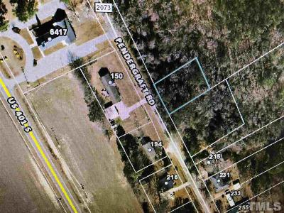 Harnett County Residential Lots & Land For Sale: Pendergraft Road
