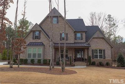 Wake Forest Single Family Home Contingent: 2412 Sterling Crest Drive
